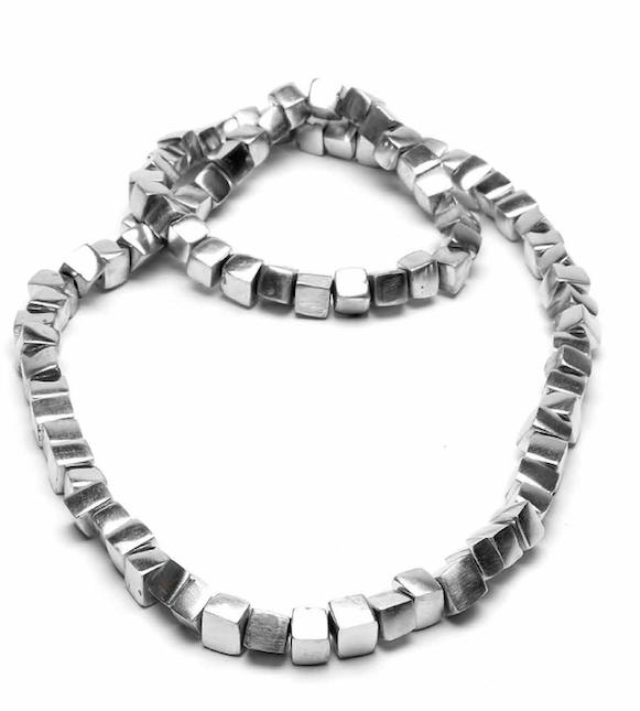 prezzo competitivo ab513 9c63b Collana Cubi alluminio riciclato Vesto Pazzo AL02002