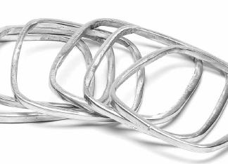 Bracciale alluminio riciclato - 55 - by VESTO PAZZO