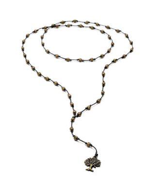 collana cubetti scolpiti love silver Pois Nero Ladispoli