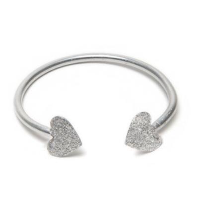 LUC6002 - Bracciale rigido alluminio diamantato by Vestopazzo