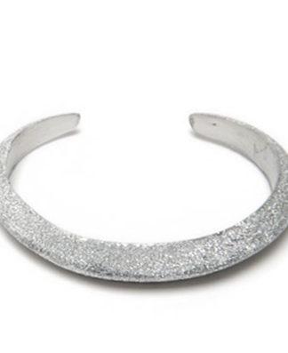 LUC6003 - Bracciale rigido alluminio diamantato by Vestopazzo