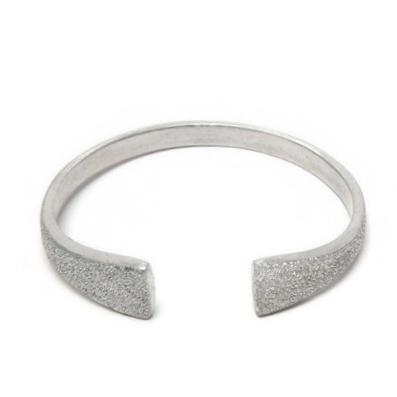 LUC6004 - Bracciale rigido alluminio diamantato by Vestopazzo