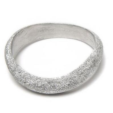 LUC6008 - Bracciale rigido alluminio diamantato by Vestopazzo