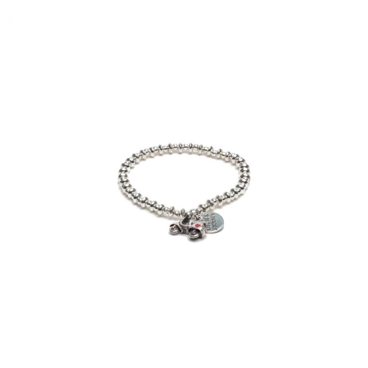 prezzo competitivo ab816 7781c Bracciale elastico pendente Vespa by Vestopazzo - LO00085