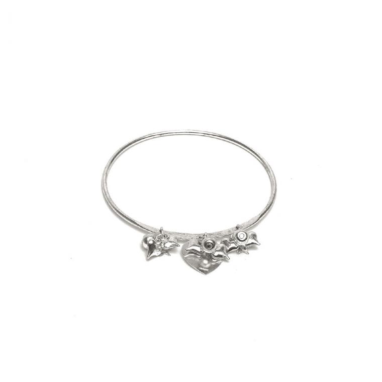 prezzo competitivo 7c334 7a1d8 Bracciale bangle con mini pendenti by Vestopazzo - MI2031