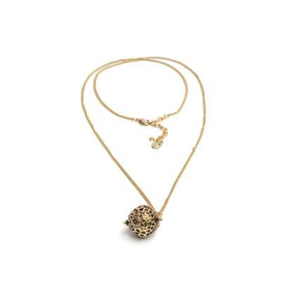 collana chiama angeli by Vestopazzo . Pois Nero Glamour Ladispoli