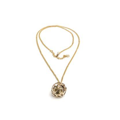 collana chiama angelifiore grande by Vestopazzo . Pois Nero Glamour Ladispoli