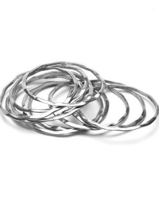 in alluminio riciclato 100%, Anallergico e inossidabile. Pois Nero Ladispoli