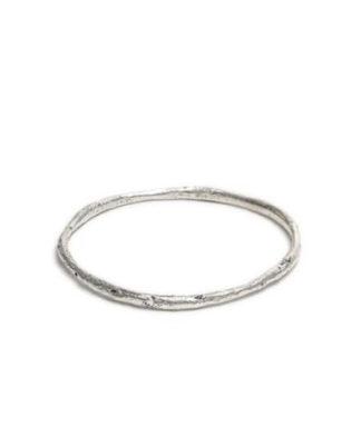 Bracciale cerchio fine RWS10041 by Vestopazzo. Lega di zinco placcata argento