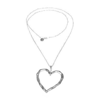 Pendente cuore irregolare by Vestopazzo linea LOVE