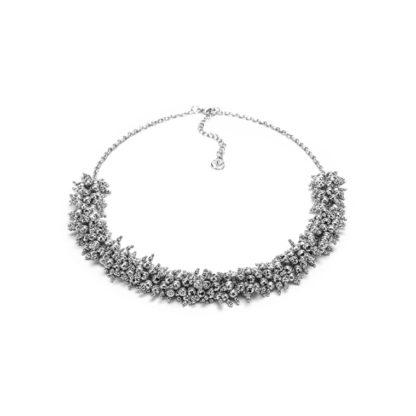 Collana mogra big Elementi placcati in argento. Bigiotteria nickel tested