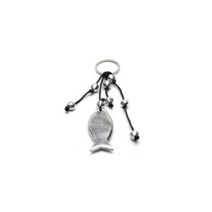 Portachiavi alluminio riciclato. Bigiotteria nickel tested by Vestopazzo. Tessuti naturali e bijoux hand made