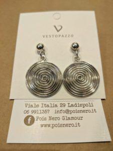 Orecchini mini spirale by Vestopazzo
