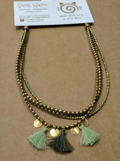 Collana 3 fili e pendenti linea Vestopazzo Fiesta