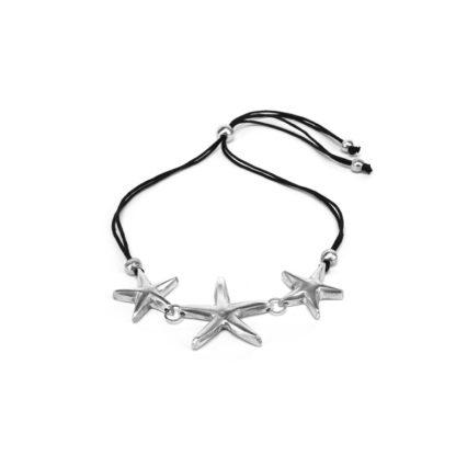 Collana 3 stelle marine
