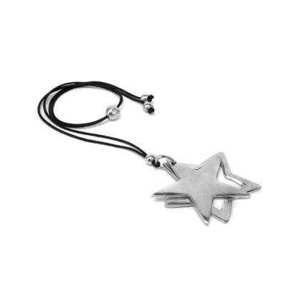 Pendente Stella vuota e stella piena in alluminio riciclato by Vestopazzo