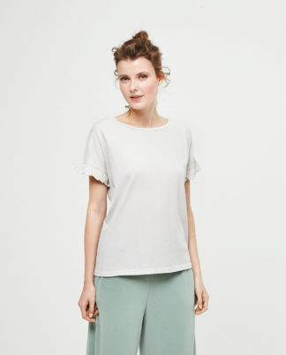 Maglietta Surkana cotone bianca