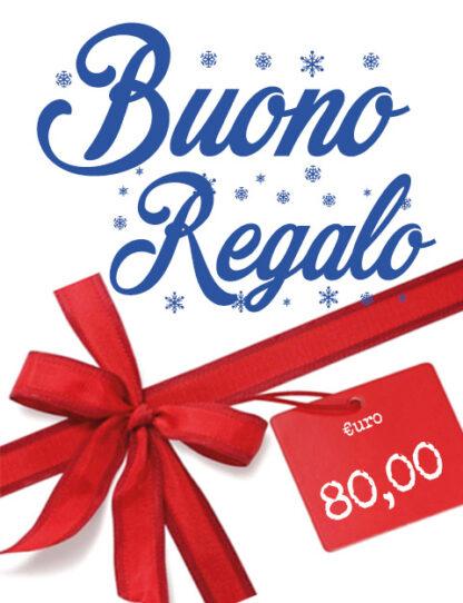 Buono Regalo 80 euro, Natale 2020