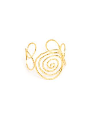 Bracciale a spirale in ottone