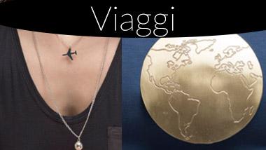 Bigiotteria tema Viaggi. Pois Nero Ladispoli e su www.poisnero.it