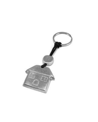 Portachiavi casa in Alluminio 100% riciclato, no nichel, anallergico