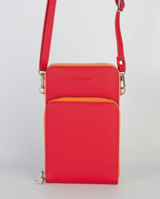 Stupenda borsa a tracolla per il cellulare, portamonete, ecc. Vari colori disponibili