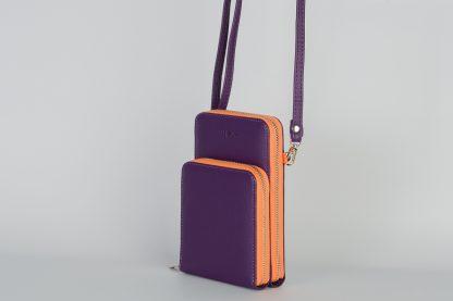 Stupenda borsa a tracolla per il cellulare, portamonete, ecc. cc